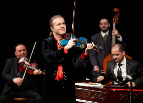 PAVEL SPORCL, violon & SON ENSEMBLE GIPSY WAY