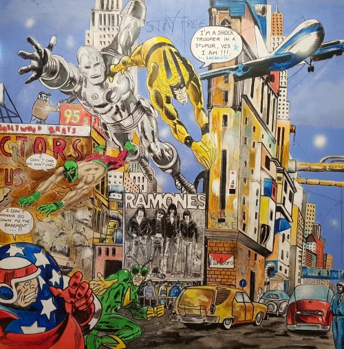 Exposition - Les super-héros de Pop Barth