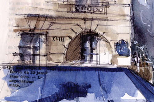 de Villes en villes, exposition d'Isabelle Corcket