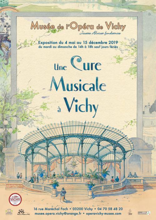 Exposition : Une cure musicale à Vichy