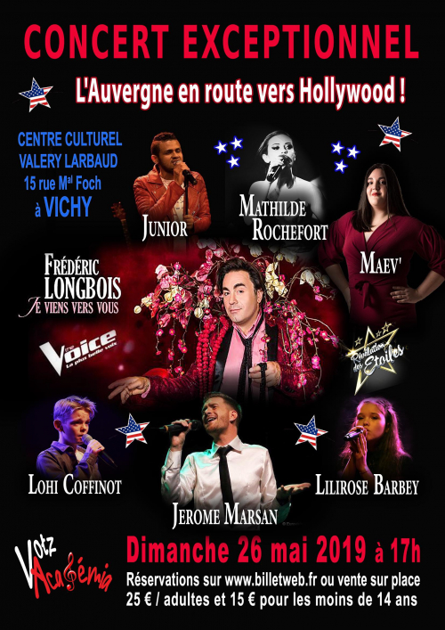 Concert : l'Auvergne en route vers Hollywood