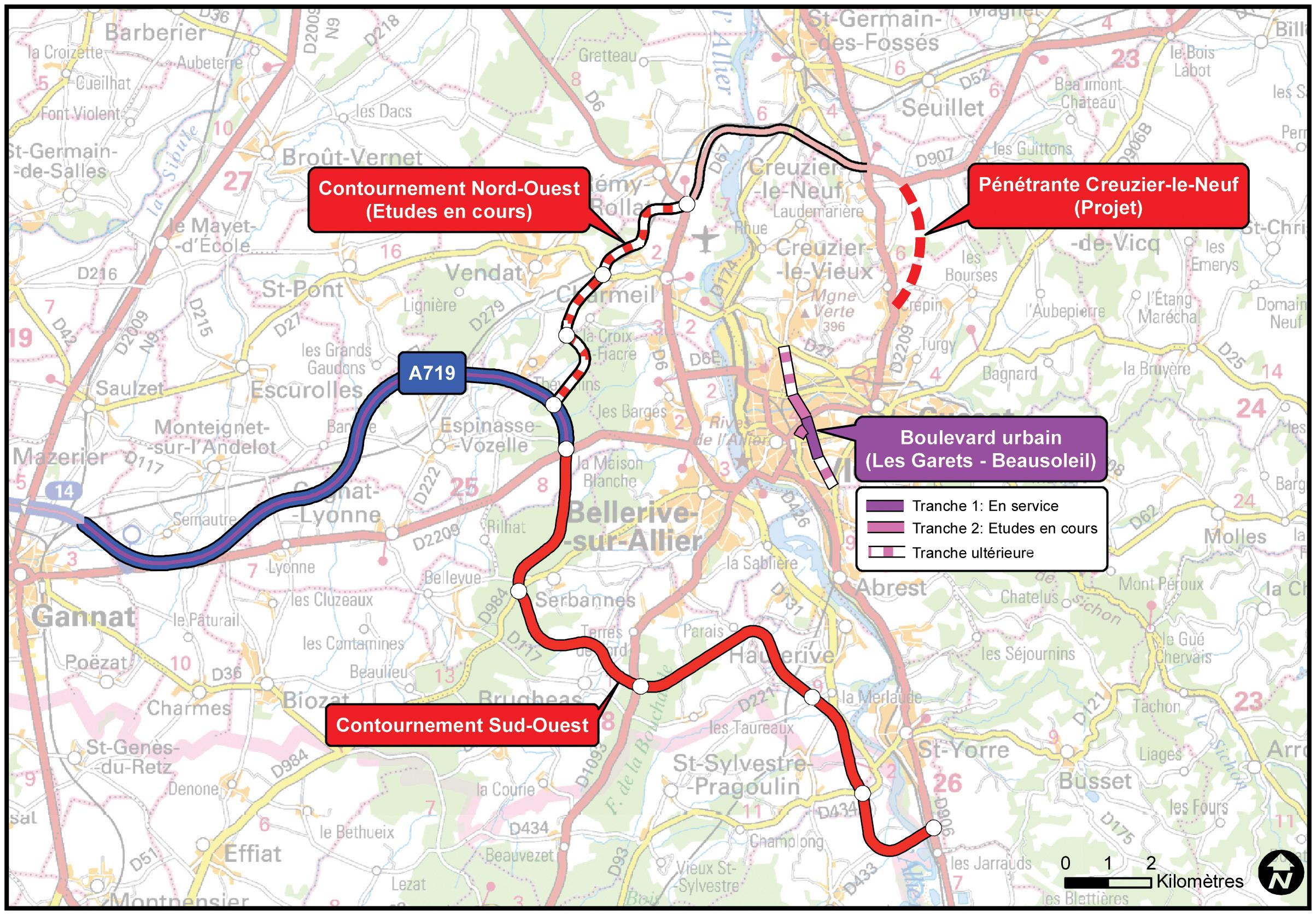 Plan De La Ville De Coulon
