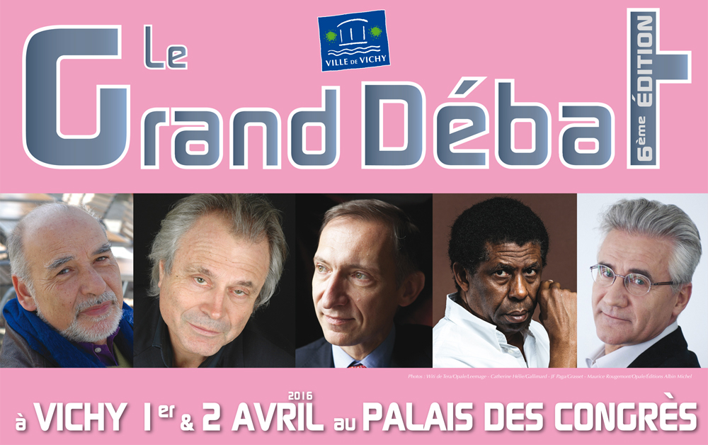 Affiche du Grand Débat 2016