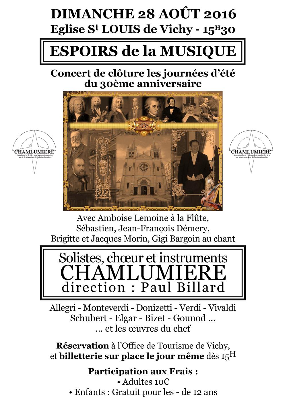 Concert espoirs de la musique - Office des oeuvres universitaires pour le centre ...