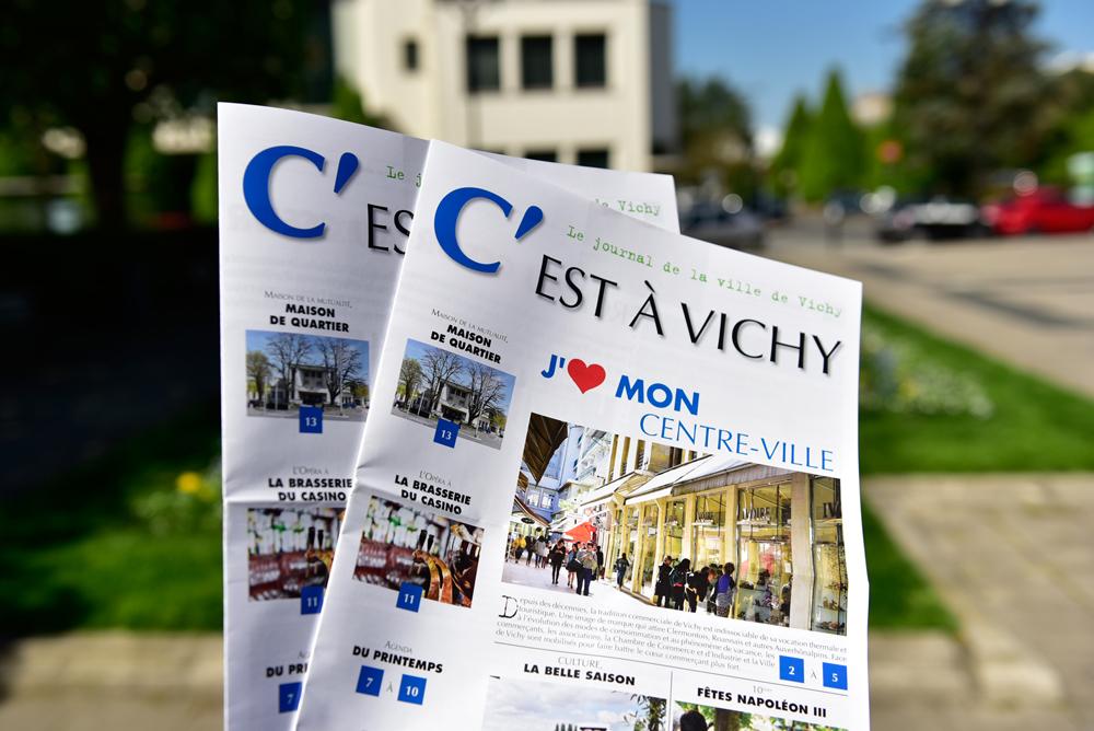 Journal C'est à Vichy